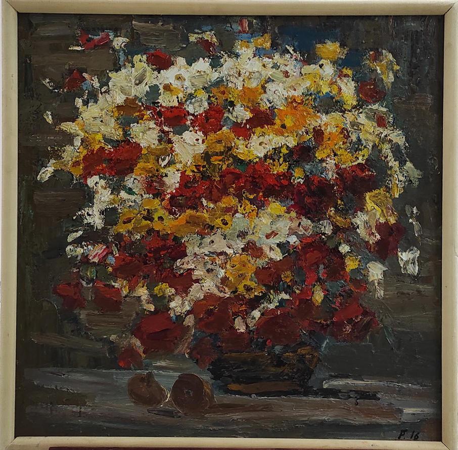 Гаглоева Римма. Осенние цветы. 2000
