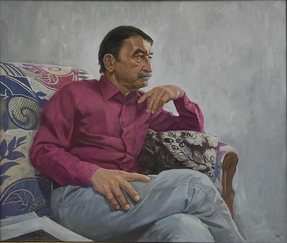 Косымов М. Портрет друга. 2015