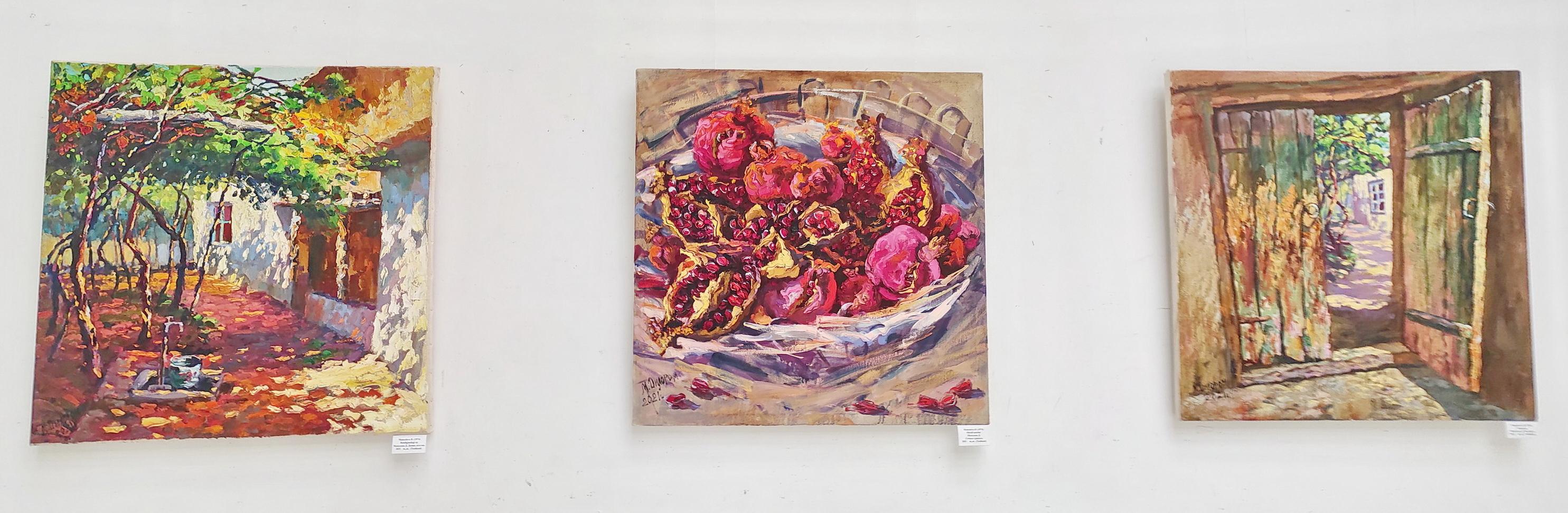 Мамедова Дилором. Экспозиция картин. 2021